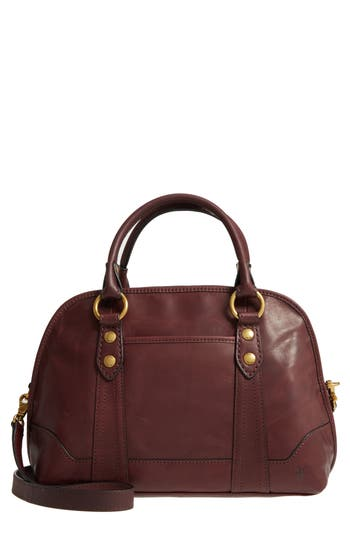 Frye Melissa Domed Leather Satchel