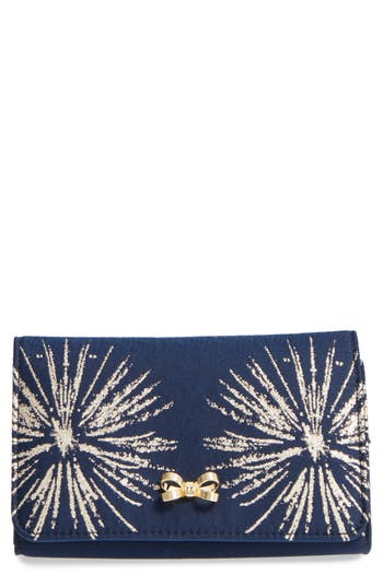 Ted Baker London Starla Stardust Bow Clutch