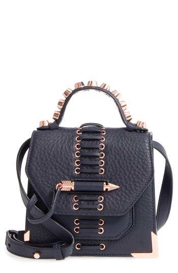 Mackage Mini Rubie Leather Crossbody Bag