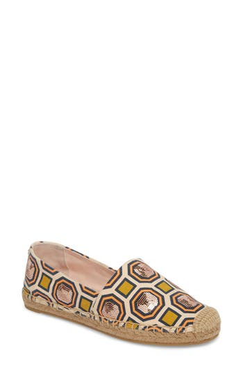 Cecily Sequin Embellished Espadrille by Tory Burch