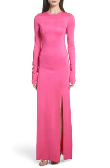 Fallon Slit Skirt Jersey Maxi Dress by Elizabeth And James