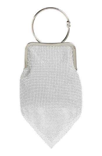 Ring Mesh Clutch by Nordstrom