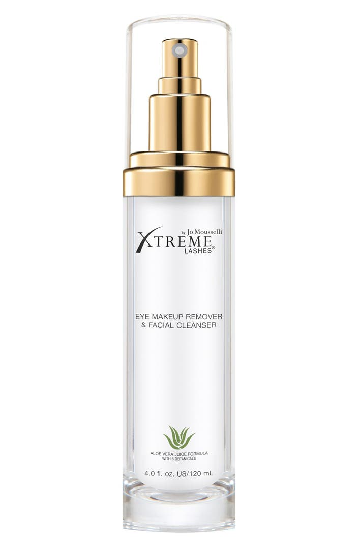 Makeup Removal Important Skin Care Routine: Xtreme Lashes By Jo Mousselli® Eye Makeup Remover & Facial