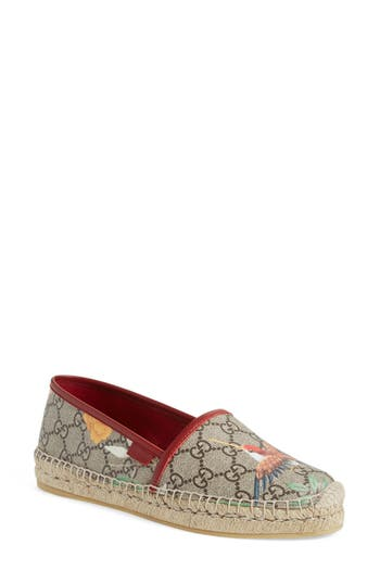 Gucci 'Pilar' Espadrille Flat (Women)