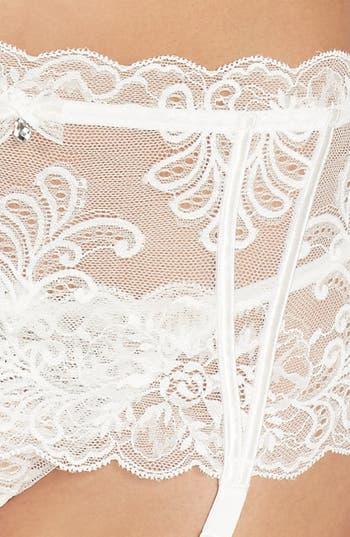 Alternate Image 5  - Le Mysère 'Sophia' Lace Garter Belt