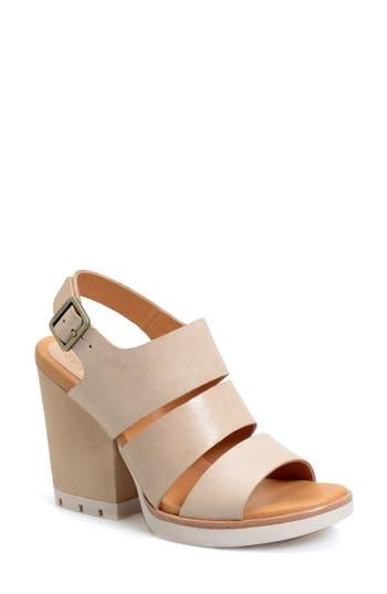 Kork-Ease® 'Lenny' Block Heel Sandal (Women)