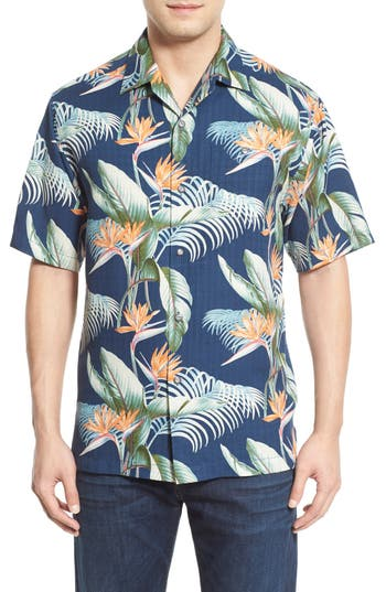 Tommy bahama 39 cool palm and collected 39 original fit silk for Big and tall cool shirts