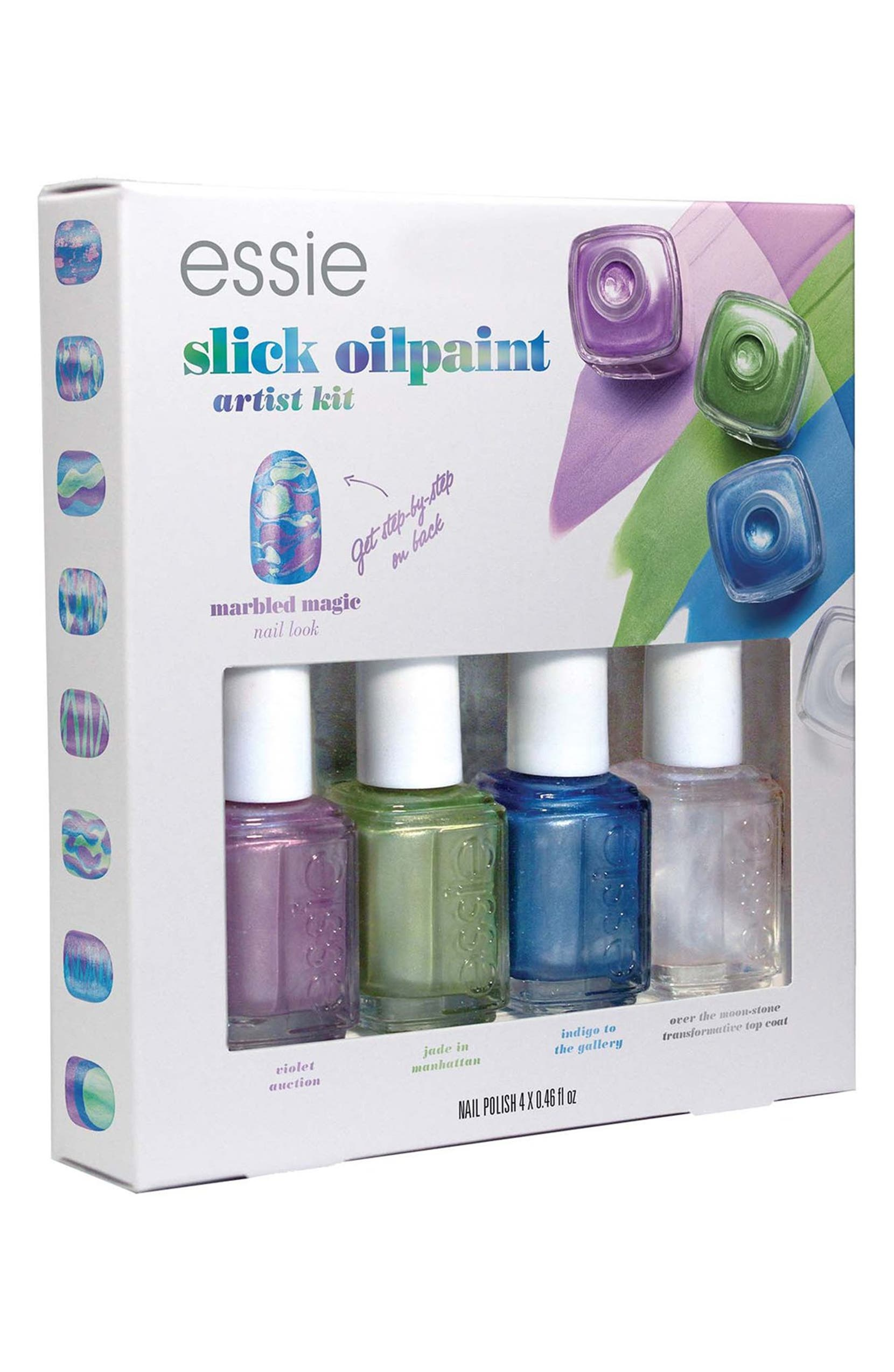 essie® \'Slick Oil Paint\' Mini Four-Pack (Limited Edition)   Nordstrom