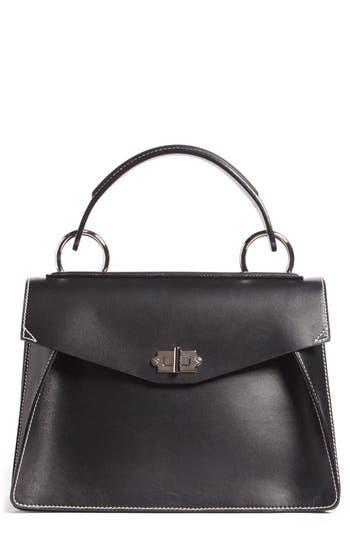 Proenza Schouler 'Medium Hava' Top Handle Calfskin Leather Satchel