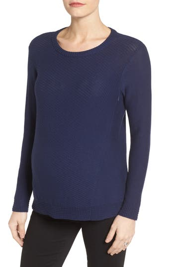 Loyal Hana Wiley Maternity/Nursing Sweatshirt