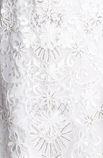 Alternate Image 3  - Sue Wong Open Back Embroidered Lace Dress