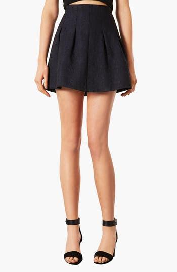 Main Image - Topshop 'Lexie' Jacquard Full Skirt