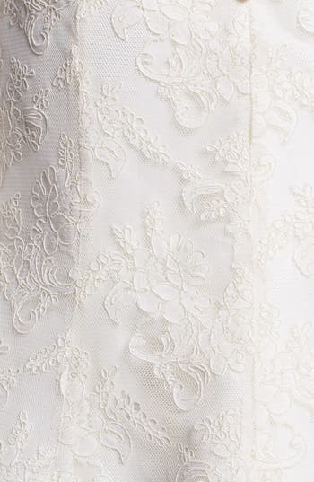 Alternate Image 3  - Jenny Yoo Antique Lace Dress & Accessories