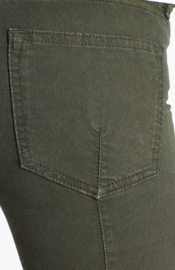 Alternate Image 3  - Vince Skinny Stretch Jeans (Dark Olive)