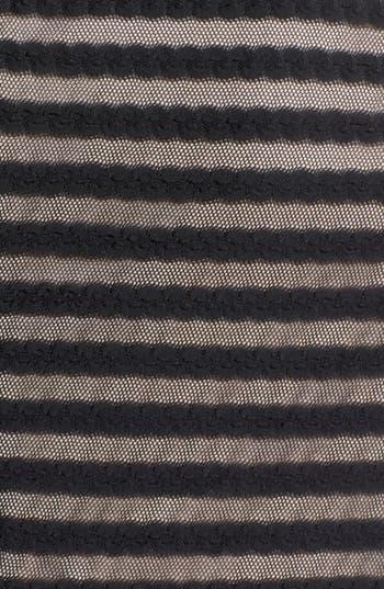 Alternate Image 3  - London Times Cable & Mesh Drop Waist Dress (Plus Size)
