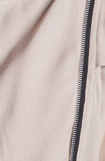 Alternate Image 3  - Living Doll Faux Leather Trim Utility Vest (Juniors)