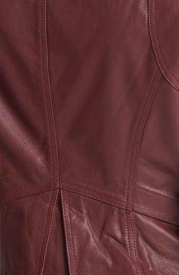 Alternate Image 3  - Collection B Leather Moto Jacket (Juniors)