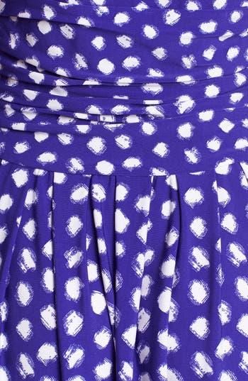 Alternate Image 3  - Eliza J Dot Print Fit & Flare Dress