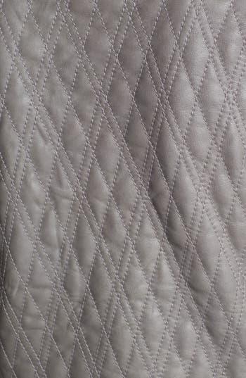 Alternate Image 4  - Hinge® Quilted Leather Jacket