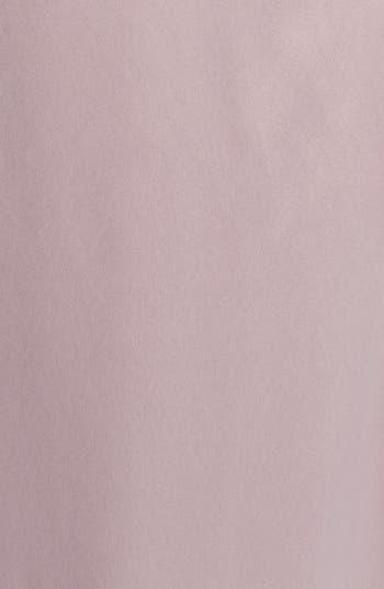 Alternate Image 3  - Amsale Long Charmeuse Dress