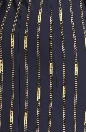 Alternate Image 3  - MICHAEL Michael Kors Belted Print Shirtdress (Regular & Petite)