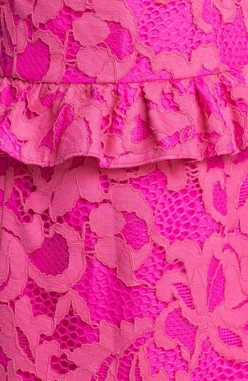 Alternate Image 3  - Lilly Pulitzer® 'Kiri' Lace Peplum Dress