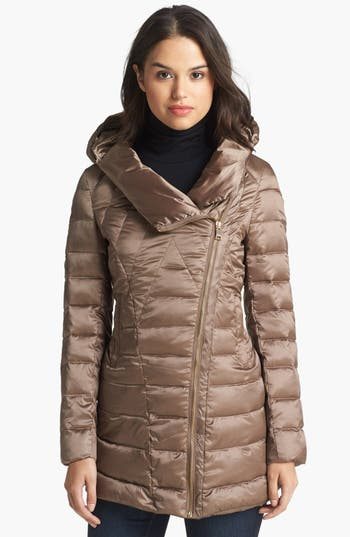 Bebe Hooded Down Amp Feather Jacket Nordstrom