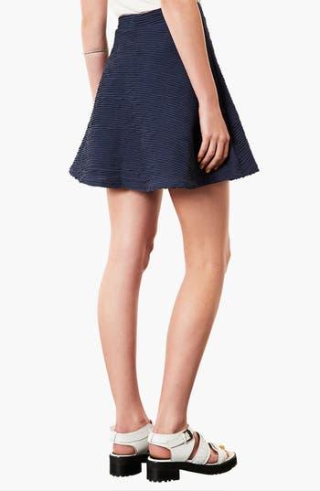 Alternate Image 2  - Topshop Ottoman Skater Skirt