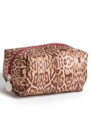 Alternate Image 3  - Tri-Coastal Design 'Leopard' Print Cosmetics Case (Set of 4)