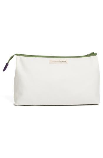 Alternate Image 4  - Alexandra Ferguson 'Luxe' Fabric Cosmetics Pouch