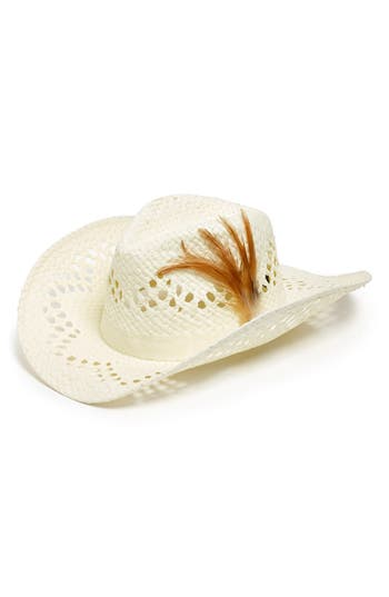 David Amp Young Open Weave Cowboy Hat Juniors Online Only