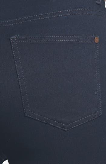 Alternate Image 3  - Fire 'The 10' High Waist Skinny Jeans (Dark Wash) (Juniors) (Online Only)
