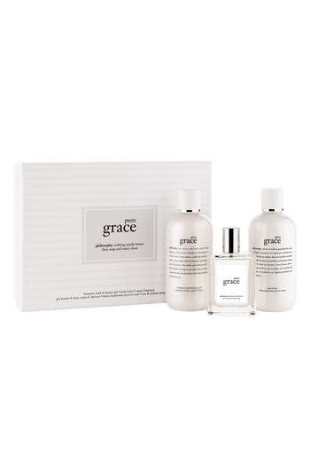 Alternate Image 1 Selected - philosophy 'pure grace' gift set ($81 Value)