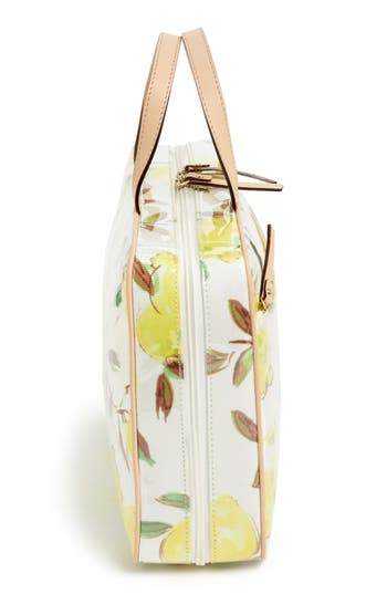 Alternate Image 3  - kate spade new york 'limoncello bouquet - manuela' cosmetics case