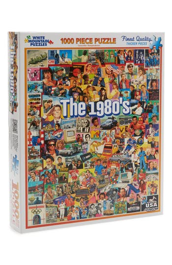 White Mountain Puzzles The 1980s 1000 Piece Puzzle