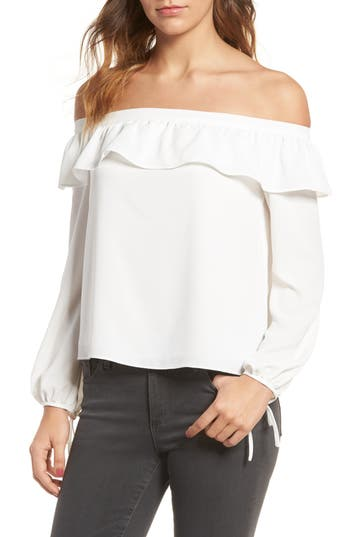 cooper & ella Leticia Off the Shoulder Blouse