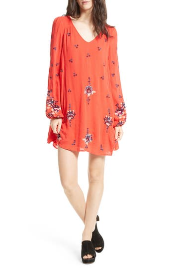 Free People Embroidered Mi..