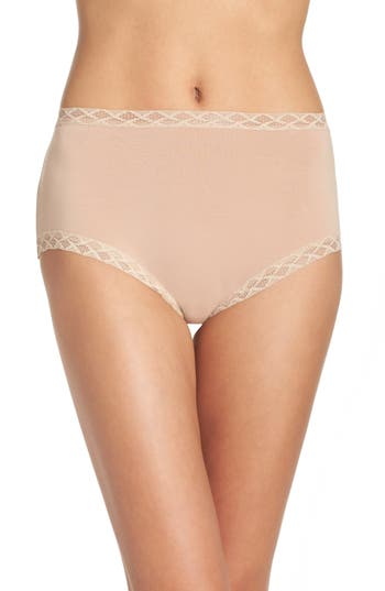 Natori Bliss Cotton Full Brief..