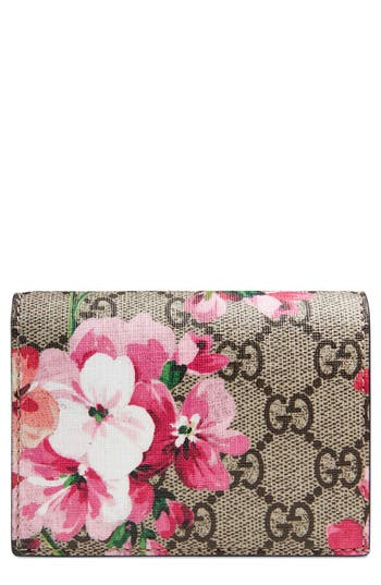 Gucci GG Blooms Canvas Card Ca..