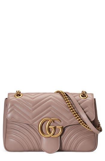 Gucci Medium GG Marmont 2.0 Matelass? Leather Shoulder Bag