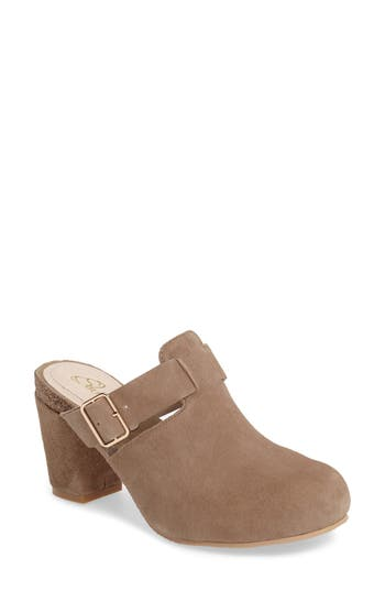 Sudini Cindy Block Heel Mule (Women)