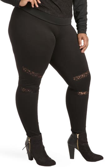 Poetic Justice Janet Curvy Fit Leggings (Plus Size)