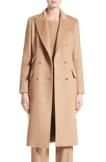 Max Mara Derris Camel Hair Coat