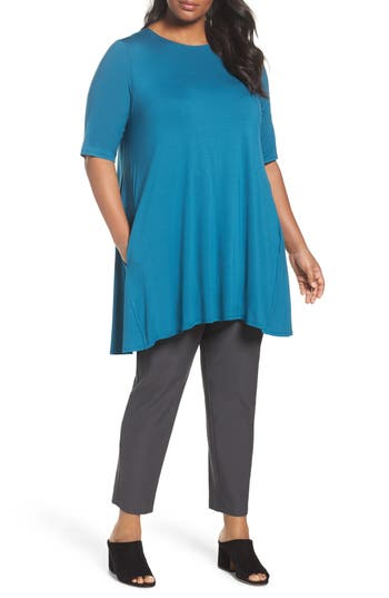 Eileen Fisher Jersey Tunic (Pl..