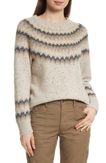 Vince Fair Isle Cashmere Sweater