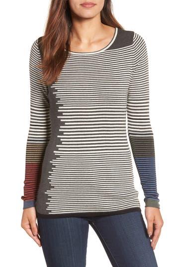 NIC+ZOE Metro Stripe Sweater (Regular & Petite)
