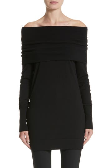 Lafayette 148 New York Convertible Off the Shoulder Sweater