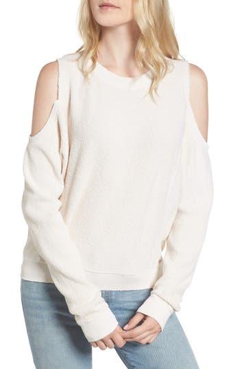 n:PHILANTHROPY Maia Cold Shoulder Reversed Sweatshirt