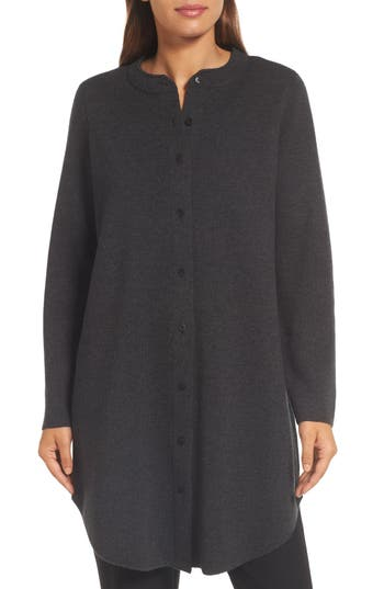 Eileen Fisher Mandarin Collar ..