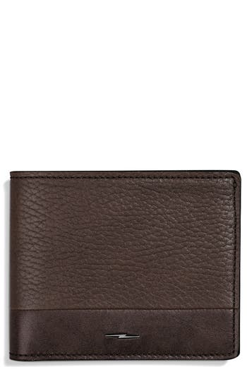 Bolt Leather Wallet by Shinola